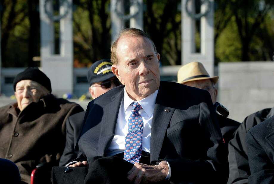 Former Sen. Bob Dole has been working as a lobbyist with the Washington law firm Alston & Bird. Photo: OLIVIER DOULIERY, Stringer / AFP or licensors