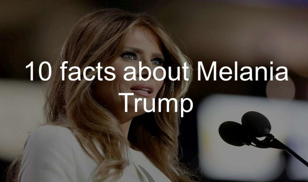 10 facts about Melania Trump.