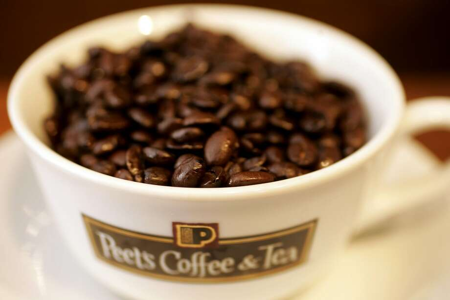 Photo of coffee beans at Peet's Coffee. Photo: Craig Lee, Special To The Chronicle