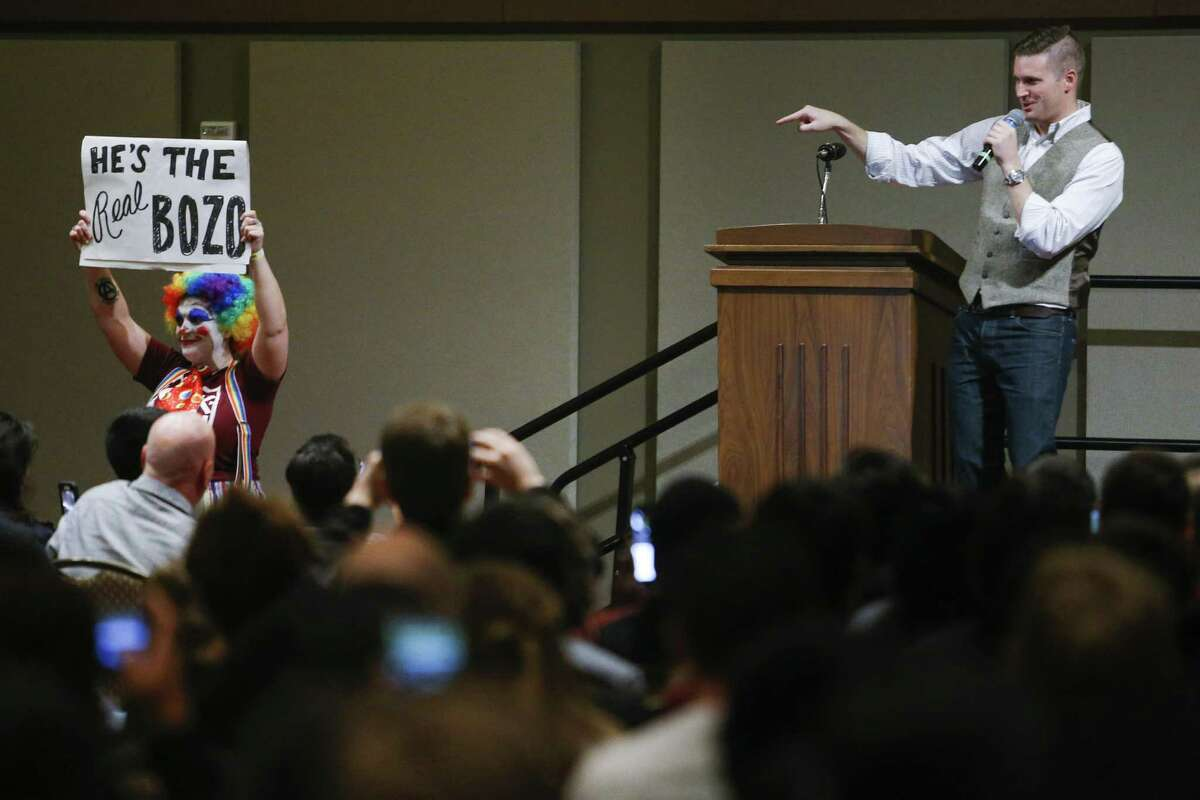 Richard Spencer will be returning Alt-right leader and white nationalistRichard Spencer will be coming back to College Station. He previously spoke at Texas A&M in December, drawing massive counter protests.