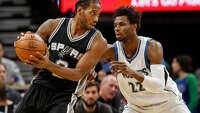 Postgame Wrap: Leonard takes the green light; Spurs beat Timberwolves - Photo