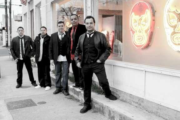 Boca Abajo are (from left) Joe Ramirez, Peter Ramirez, Lionel Salinas, Conrad Salinas and Patrick Salinas. The Austin band plays rock en español