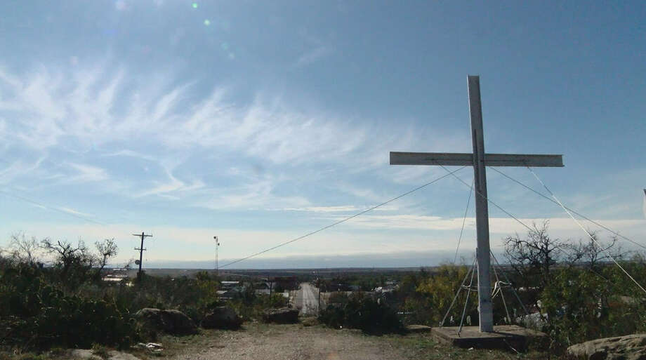 Where's the line on religion in a public space?The Wisconsin-based Freedom From Religion Foundation is taking issue with a large Latin cross displayed in Swenson Park in the small, Texas Panhandle town of Spur.PHOTOS: See the religions of Texas representatives on Capitol Hill ... Photo: City Of Spur, Texas