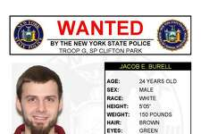 The State Police posted online Wednesday to say they are seeking eight defendants statewide, including two people from the Capital Region. (State Police) ORG XMIT: 6HJDliBCT5EChlcaD_ma