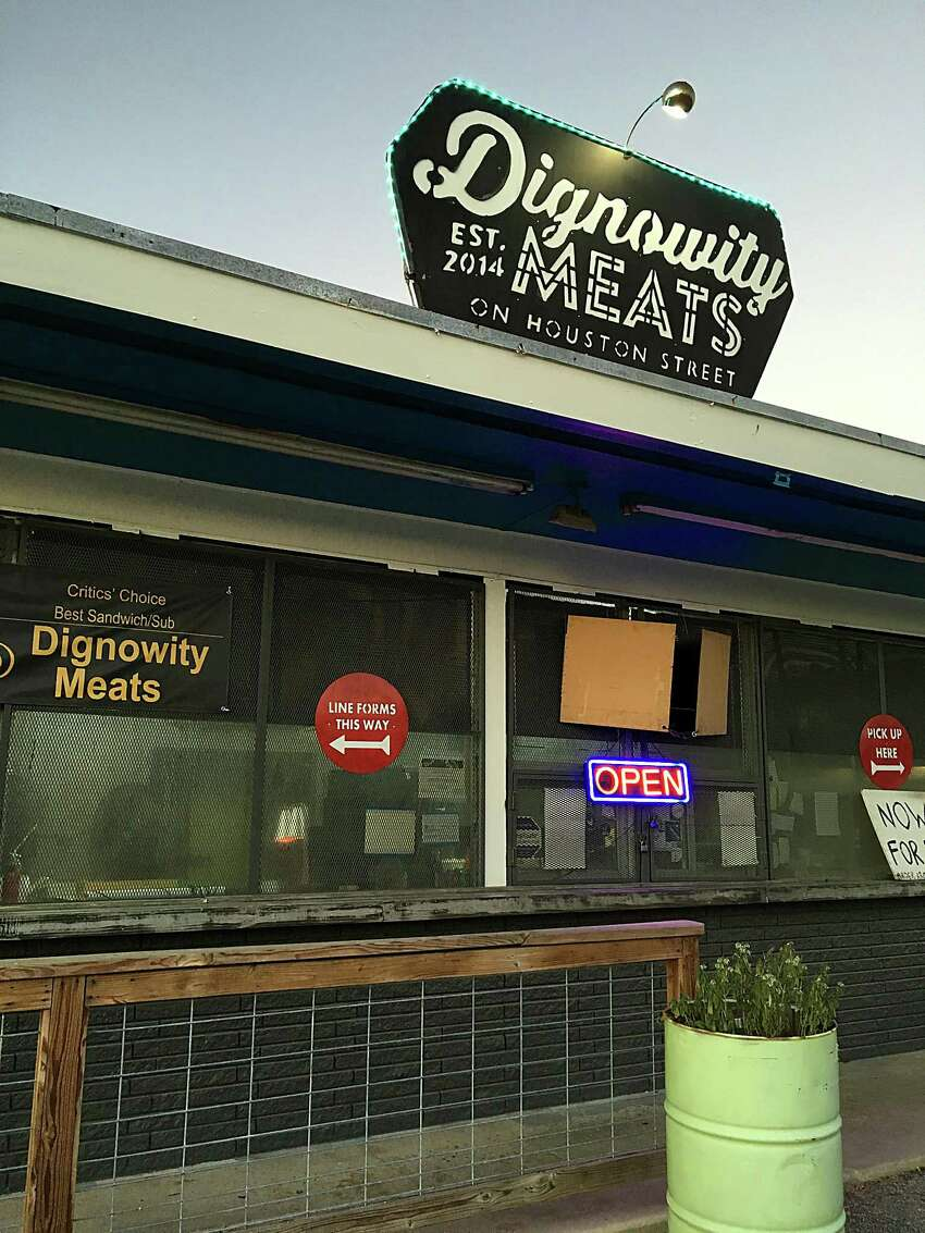 Dignowity Meats: 1701 E. Houston St. Date: 06/17/2019 Score: 77 Highlights: Inspectors observed an