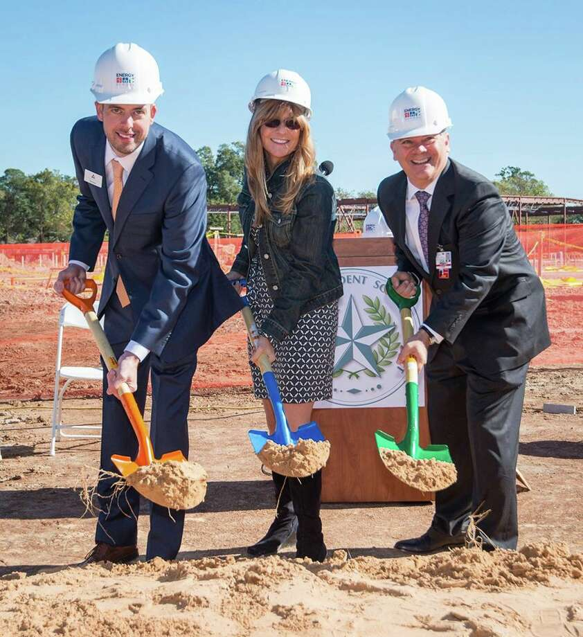 The ground was recently broken for Houston ISD's new Energy Institute High School, located in the Houston's Third Ward area. Photo: VLK Architects