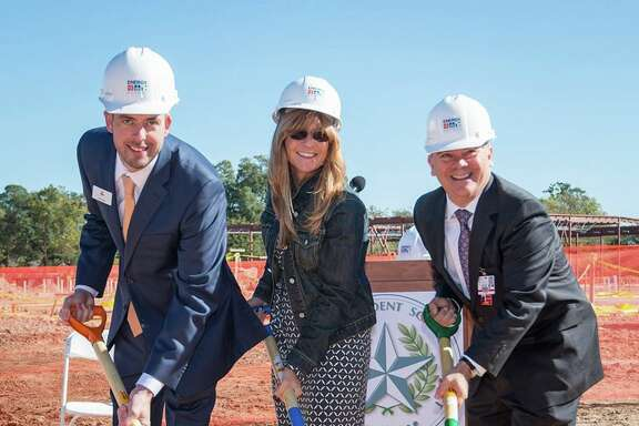 The ground was recently broken for Houston ISD's new Energy Institute High School, located in the Houston's Third Ward area.