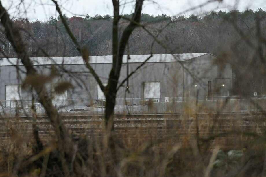 Building on former General Electric dewatering site on Wednesday, Nov. 16, 2016 in Fort Edward, N.Y. (Lori Van Buren / Times Union) Photo: Lori Van Buren / 20038840A