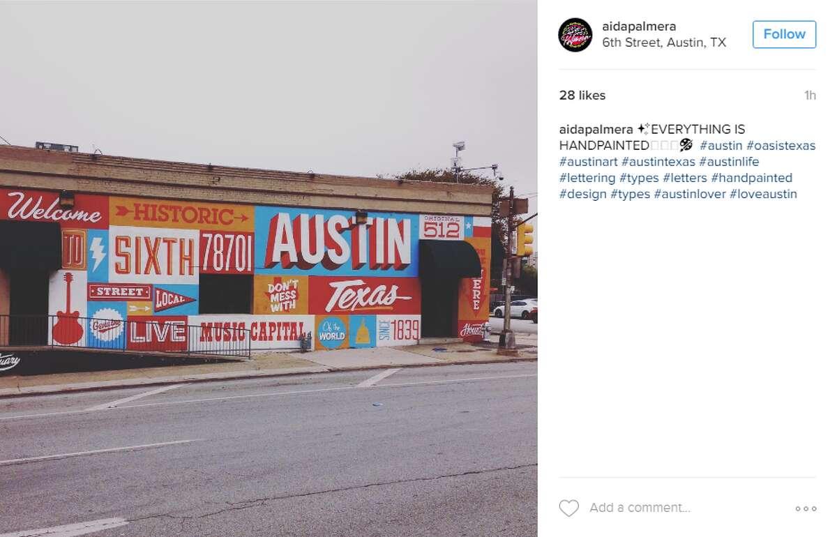 6th Street, Austin, TX @aidapalmera