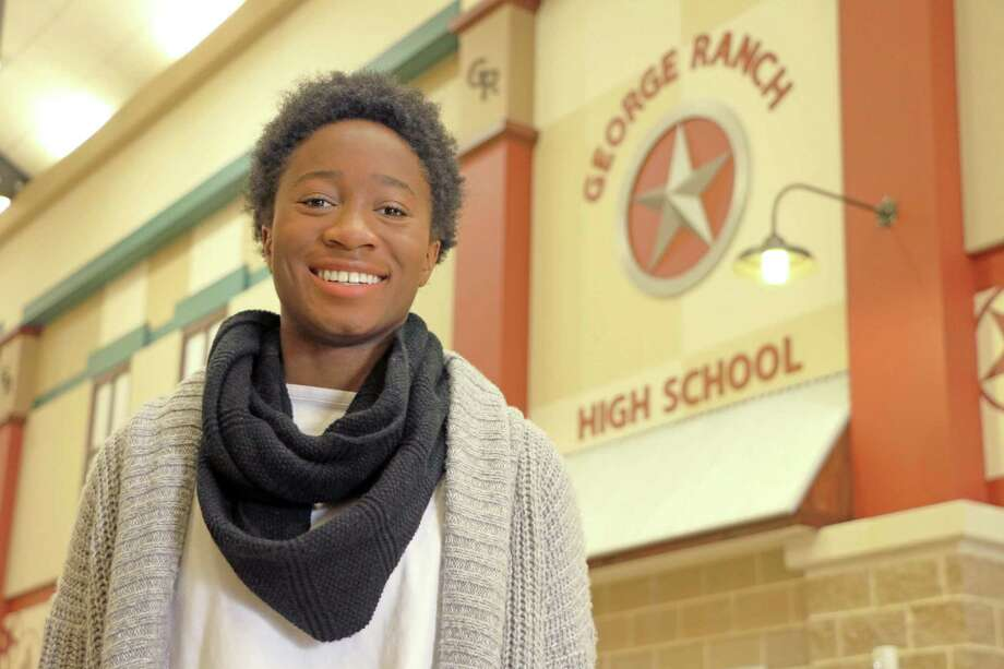 George Ranch's Omolara Olabisi is a finalist in the National QuestBridge Scholar Program. Photo: Lamar CISD