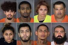 A mugshot brady of 23 people arrested on murder charges in September, October in Bexar Co.