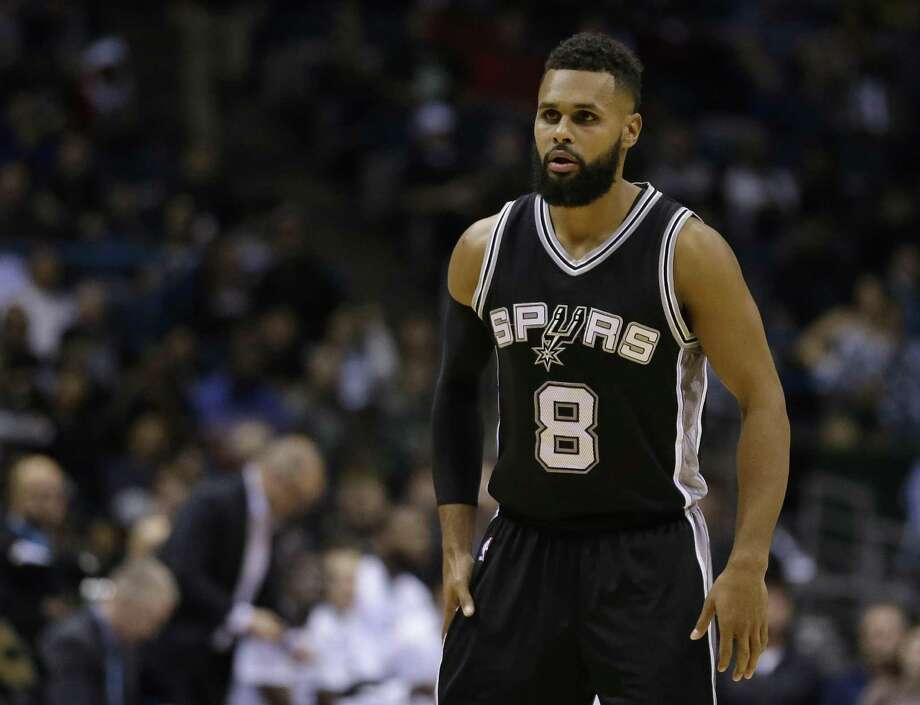 San Antonio Spurs' Patty Mills during the second half of an NBA basketball game against the Milwaukee Bucks Monday, Dec. 5, 2016, in Milwaukee. The Spurs won, 97-96. (AP Photo/Aaron Gash) Photo: Aaron Gash, FRE / Associated Press / FR171181 AP