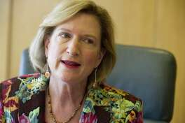 Former Frontier Communications CEO Maggie Wilderotter in April 2014.