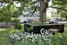 Gartner's building, on Top Gallant Road in Stamford, Conn.