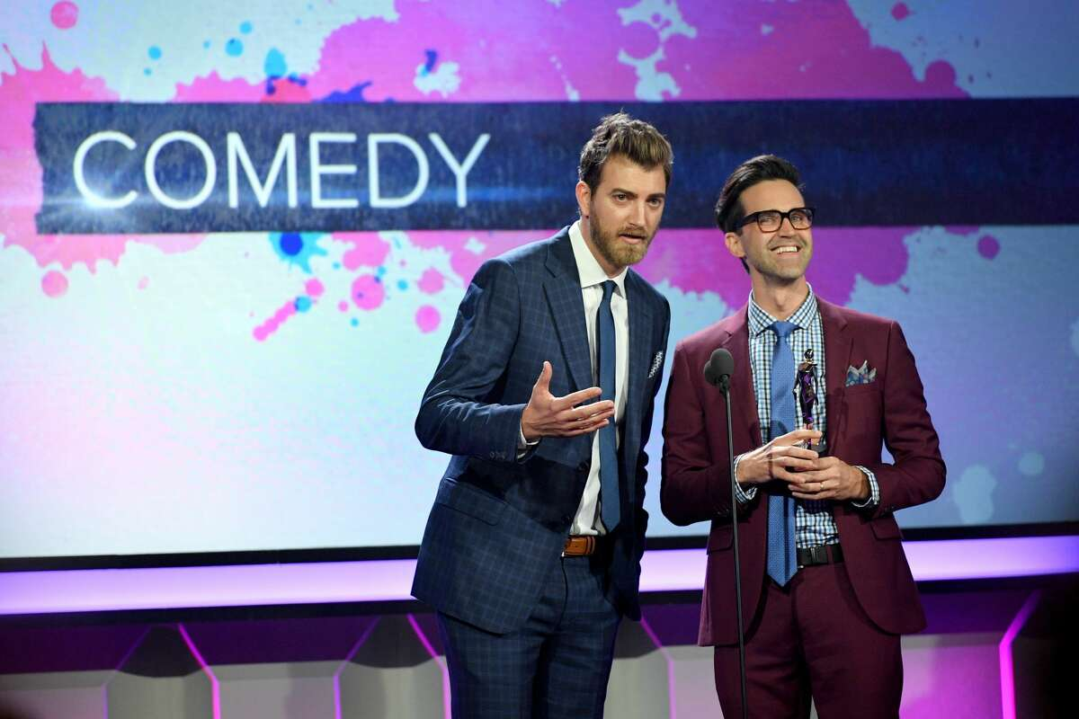 9. Comedian duo Rhett and Link Earned: $5 million Subscribers:11,548,071 The comedians givelaughs to their subscribers through their morning-show themed channel. They've even scored A-list celebrities like Amy Schumer and Daniel Radcliffe.
