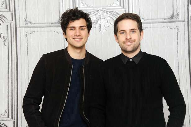 NEW YORK, NY - DECEMBER 01:  Anthony Padilla and Ian Hecox attend Build Presents 'Ghostmates' at AOL HQ on December 1, 2016 in New York City.  (Photo by Desiree Navarro/Getty Images)