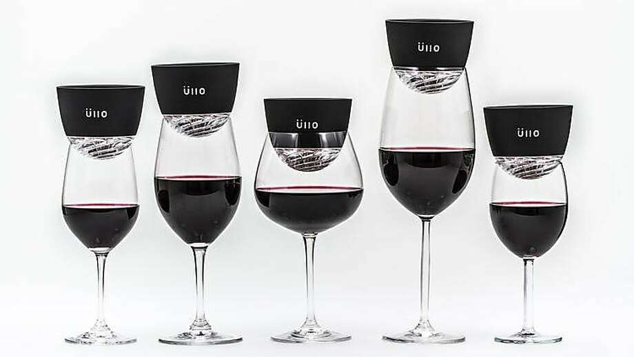 Üllo wine purifiers. Photo: �llo