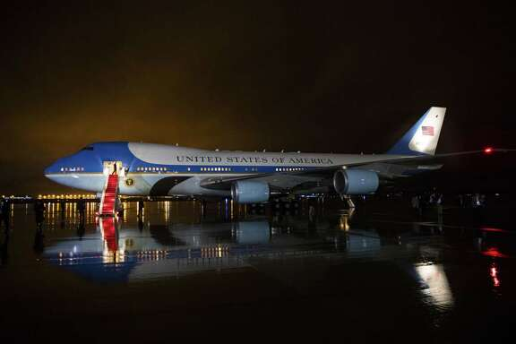 Air Force One at Joint Base Andrews in Maryland after President Barack Obama made a trip to MacDill Air Force Base in Tampa, Fla. on Tuesday. President-elect Donald Trump, who has for years flown in a jet bearing his name, appeared to cancel a pending order for a new Air Force One, saying Tuesday on Twitter that the upgrade would cost too much.
