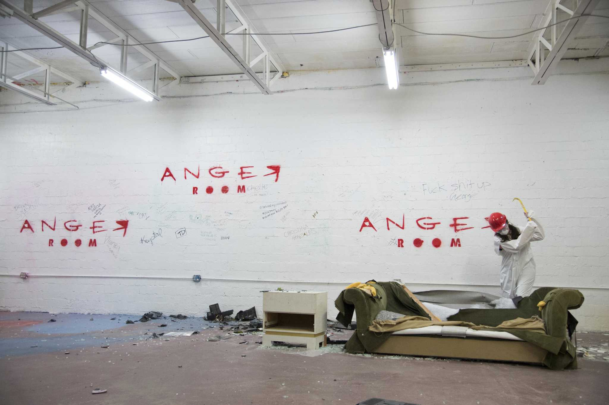 Anger Room is a haven for frustration - San Antonio Express-News
