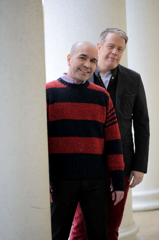 Tom Fitzgerald, right, and Lorenzo Marquez. Photo: Dayna Smith/For The Washington Post