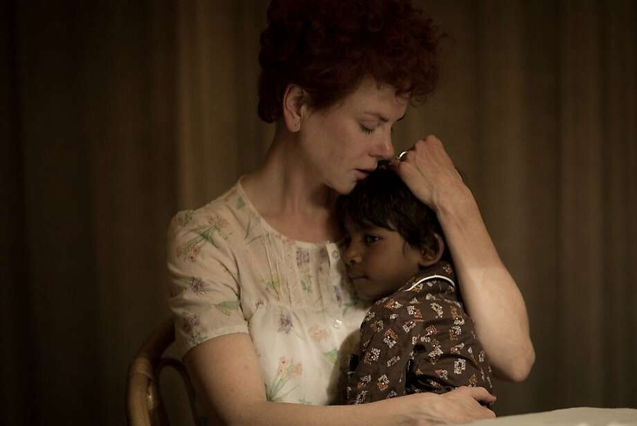 "Nicole Kidman is the adoptive mother and Sunny Pawar the once-lost little boy in ""Lion."" Photo: Mark Rogers, Associated Press"