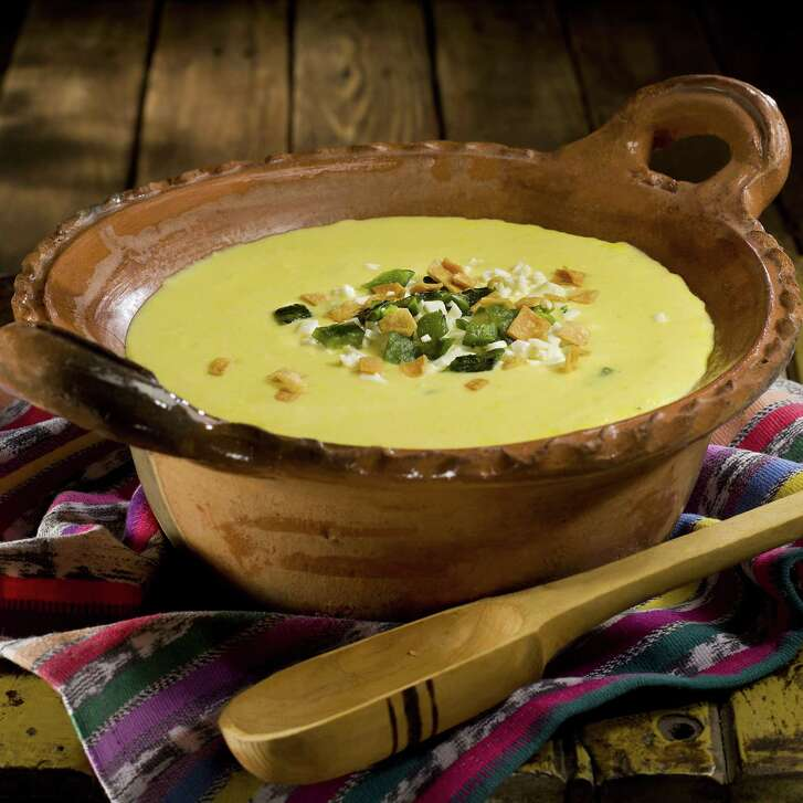 Sopa de Elote, or corn soup, is a recipe that's simple enough for a weeknight but elegant enough for guests.