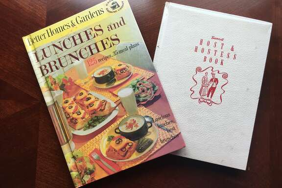 Vintage cookbooks in Vanessa Hua's collection.