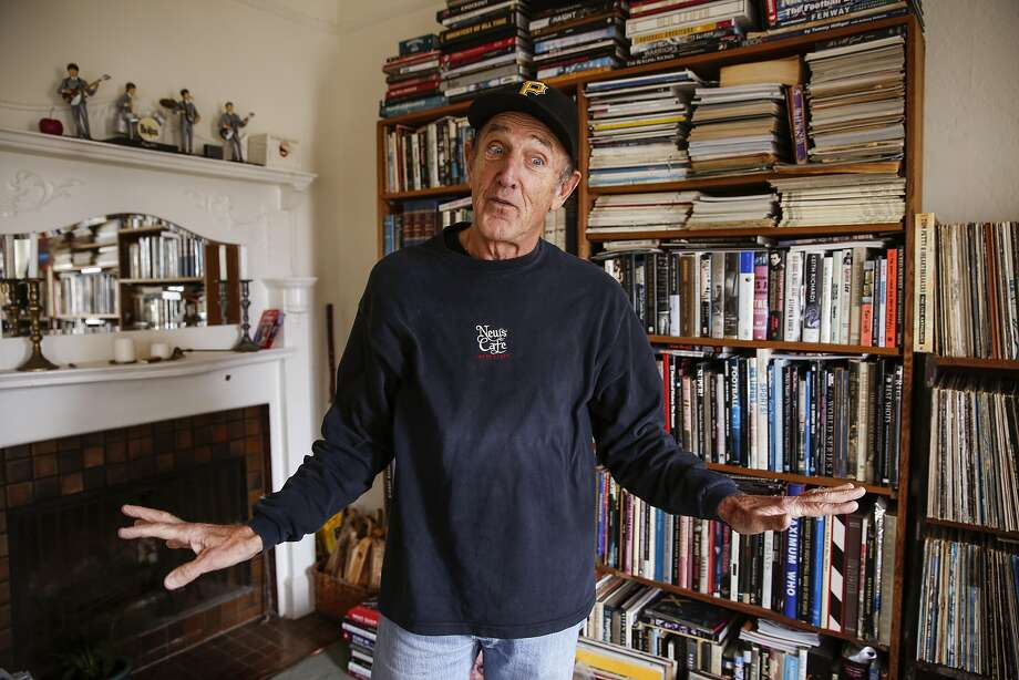 Michael Zagaris recounts the time he was arrested with The Who in Canada. Photo: Russell Yip, The Chronicle