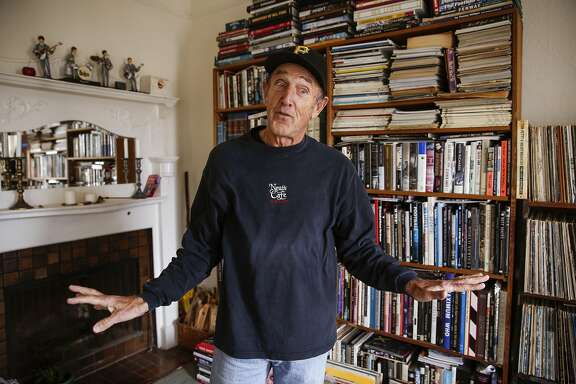 Michael Zagaris recounts the time he was arrested with The Who in Canada on Wednesday, Dec. 7, 2016 in San Francisco, Calif.