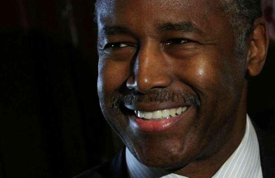 """Ben Carson, recently named secretary of Housing and Urban Development.  """"These government-engineered attempts to legislate racial equality  create consequences that often make matters worse,"""" he wrote of a recent  Supreme Court decision on housing. Photo: Alex Wong, Getty Images / 2016 Getty Images"""
