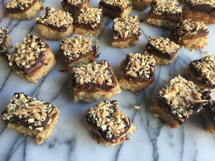 "Nostalgic flavors inspire holiday baking: Pomegranate Thumbprint Cookies; Almond Roca Bars, Chocolate Peppermint Cookies; Mini-Chocolate-Pecan Cookies; ""Lil Jennys"" Oatmeal Cream Sandwiches"