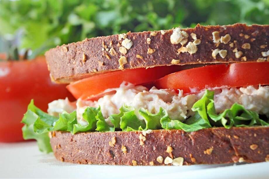 10. Tuna sandwich (27%) Photo: Cappi Thompson/Getty Images