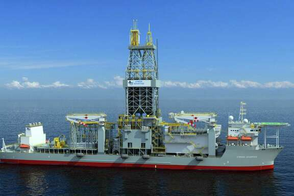 Noble Energy said Thursday it has entered into a 36-month contract with  Atwood Oceanics for a new drillship under construction in South Korea. The Atwood Advantage will be capable of drilling in 12,000 feet of water and will be equipped with dual blowout preventers. Credit: Atwood Oceanics.