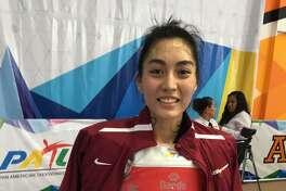 Salma Castellanos will compete for Team USA at the World Taekwondo Team Championships.