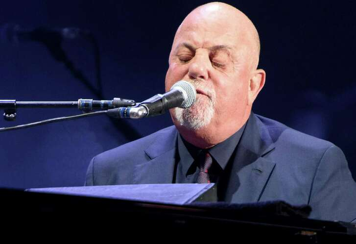 "Billy Joel performs at Madison Square Garden in August. He added ""Born to Run"" to his set list there."