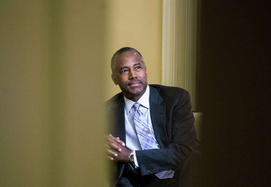 Ben Carson, Secretary of Housing and Urban Development under President Trump, has proposed changes in federal housing policy that would neither foster economic self-sufficiency nor meaningful fiscal savings. Photo: AL DRAGO, NYT / NYTNS