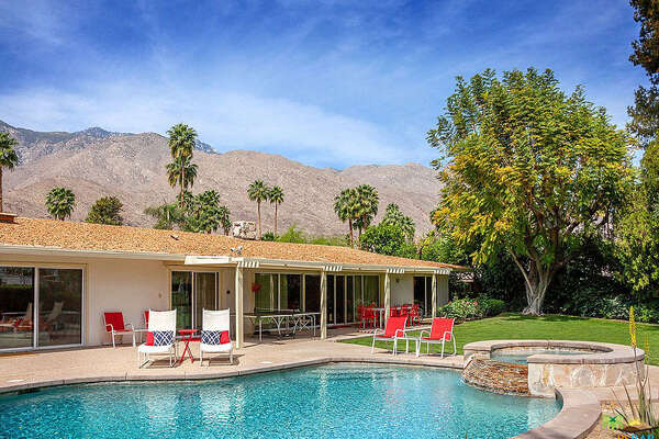 2688 S Camino Real, Palm Springs, CA 92264   Built for Walt Disney in 1962.  Price:  $899,000   