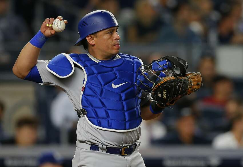 Nov. 7, 2016:Dipoto's first offseason trade came when he shipped reliever Vidal Nuno to the Los Angeles Dodgers in exchange for veteran catcher Carlos Ruiz (above). Ruiz, who will be 38 by the time spring training starts, was an All-Star with the Phillies in 2012 and should at least provide some veteran leadership while splitting duties with Mike Zunino in 2017.