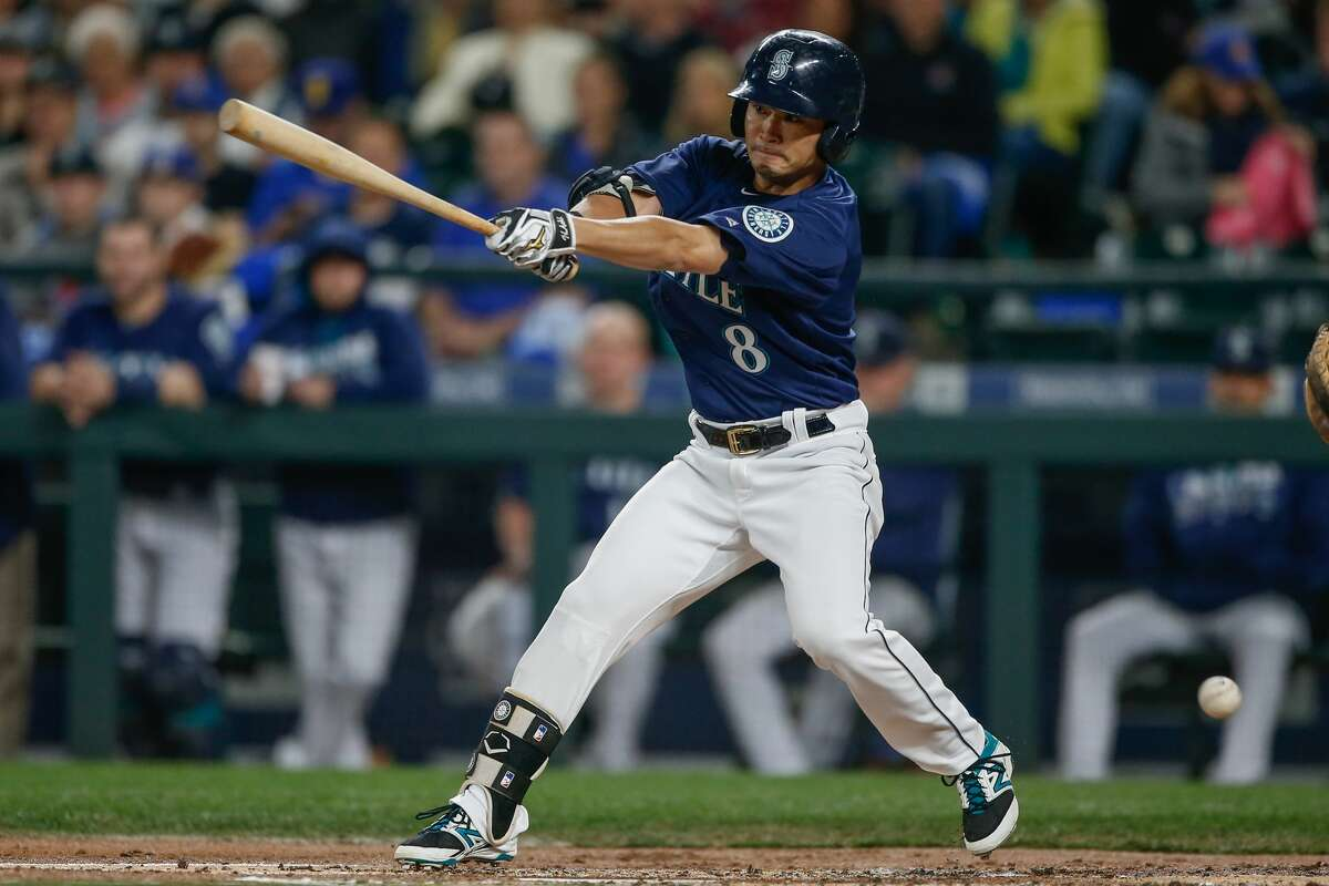 Nov. 3-4, 2016:Seattle was also involved in a couple of waiver deals in the first days of the offseason, the most notable of which involved outfielder Nori Aoki(above) being claimed by the division-rival Houston Astros on Nov. 3. Aoki played in 118 games with the Mariners in 2015, slashing .339/.390/.500 over 51 gams in the second half of the season. The Mariners claimed left-handed reliever Dean Kiekhefer from the Cardinals the next day.