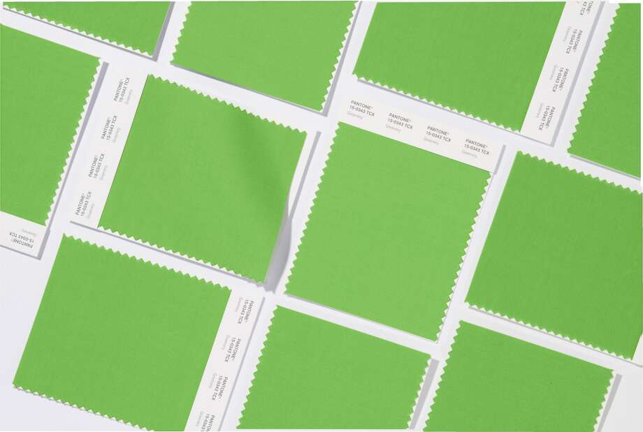 Pantone has announced Greenery as its 2017 Color of the Year.