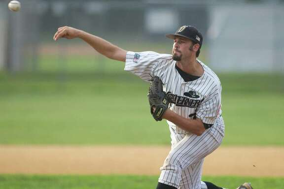 Righthander Mike Hauschild started for the Westerners against Bristol in the first game of the best-of-three NECBL playoff series Monday night at Rogers Park.