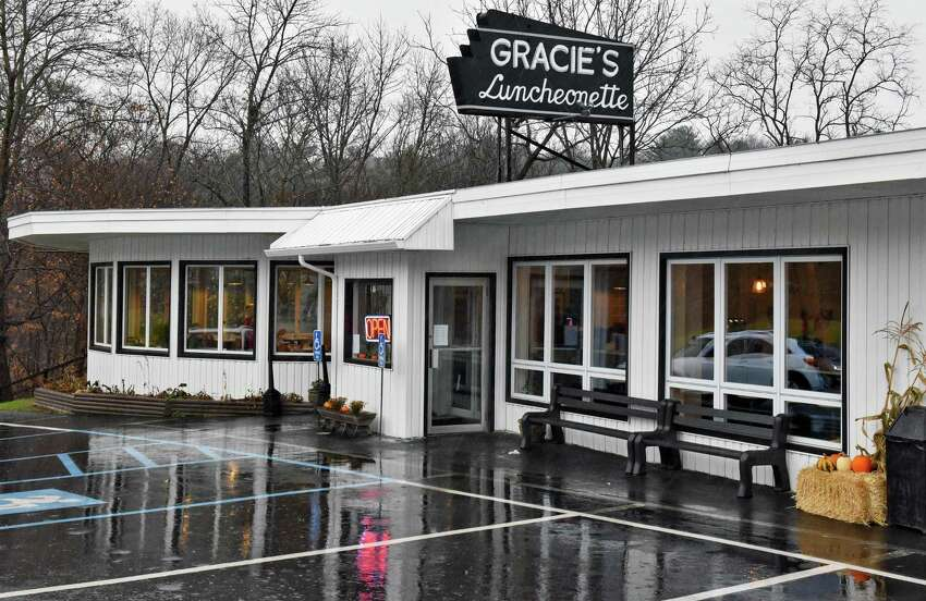 Exterior of Gracie's Luncheonette on Main Street Wednesday Nov. 30, 2016 in Leeds, NY. (John Carl D'Annibale / Times Union)