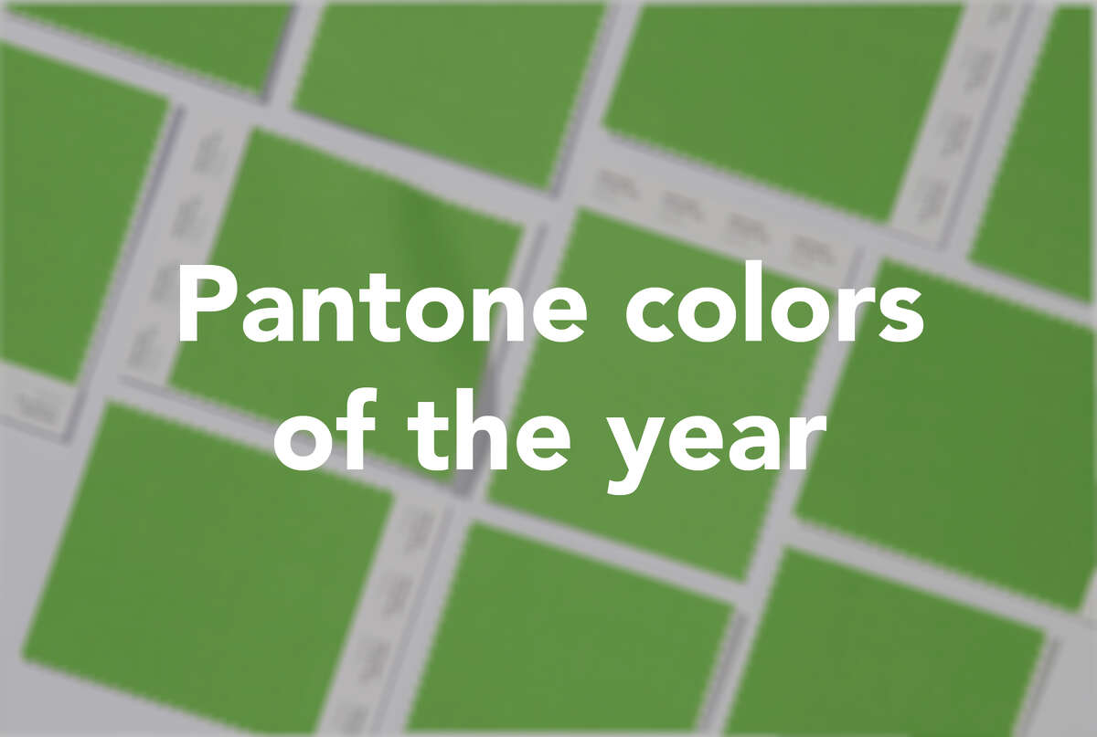 Click through to see Pantone's picks throughout the years.