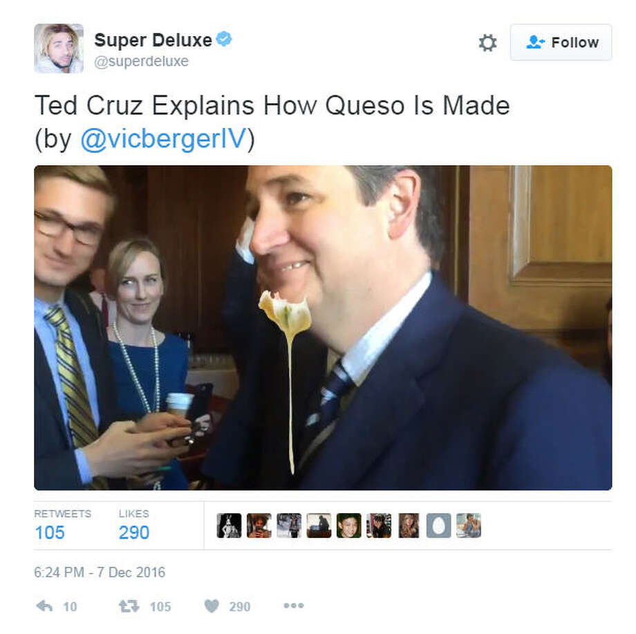 """Ted Cruz Explains How Queso Is Made""