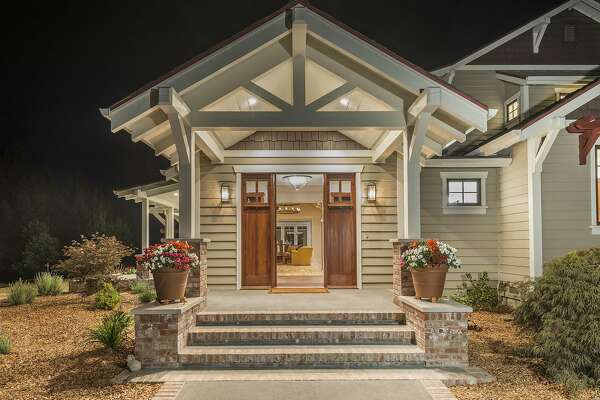 The four bedroom Craftsman home built in 1990 was recently updated.