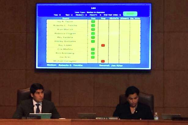 City Council members voted in favor of allowing ride hailing organizations like Uber and Lyft to continue to operate in San Antonio on Thursday Dec 8, 2016.