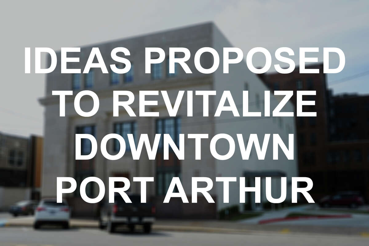 Click through to see the projects people have proposed or completed in an attempt to attract visitors to downtown Port Arthur.