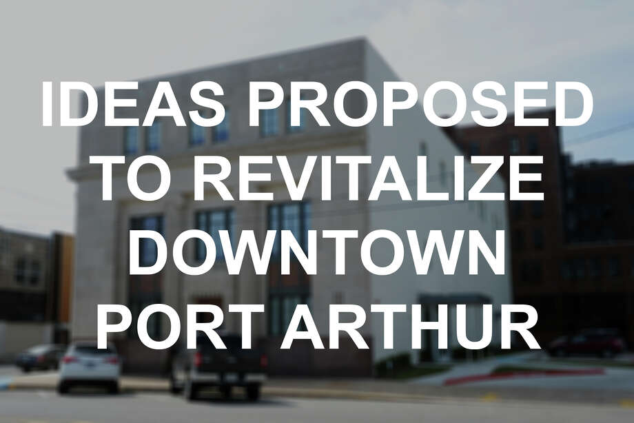 Click through to see the projects people have proposed or completed in an attempt to attract visitors to downtown Port Arthur. / ©2015 The Beaumont Enterprise/Jake Daniels