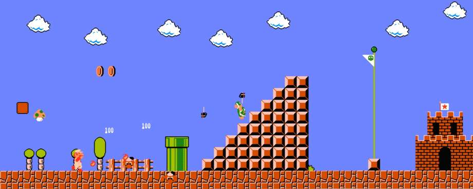 Super Mario Bros is a video game that was extremely popular in the 1980s. Click through this slideshow to find the most popular video game the year you were born.  Photo: Nintendo