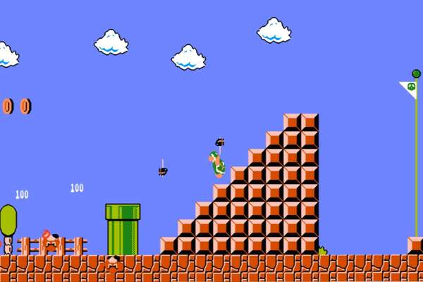 Super Mario Bros Screen from Nintendo